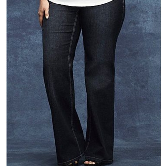 7a160b4a9f3 Lane Bryant Denim - Lane Bryant genius fit flare jeans